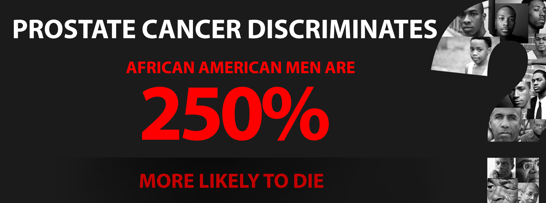 prostate cancer in african american men 2 essay Morris is of african descent, and african-american men are the group - out of all men in the world - hardest hit by prostate cancer that puts him in a high-risk group of men who need to start screening for prostate cancer at age 40.